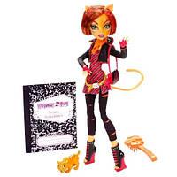 Кукла Monster High Toralei Stripe Basic Монстер Хай Торалей Страйп с питомцем