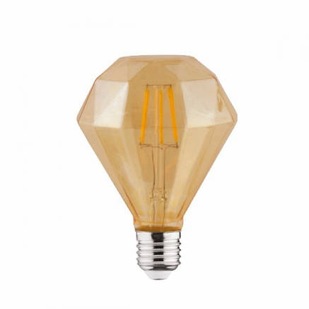 Лампа Эдисона светодиодная 6W Horoz Е27 2200К DIAMOND, фото 2