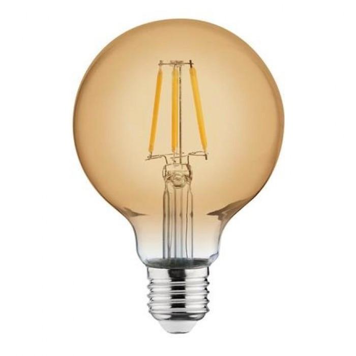 Лампа Эдисона светодиодная 4W Horoz Е27 2200К GLOBE