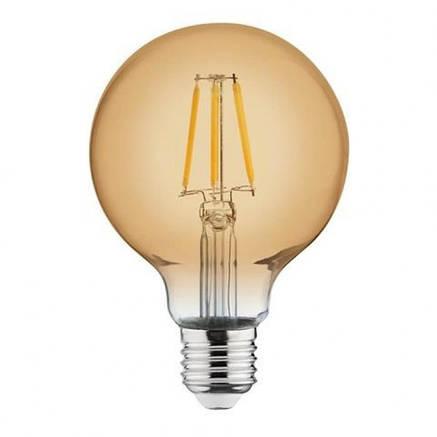 Лампа Эдисона светодиодная 4W Horoz Е27 2200К GLOBE, фото 2
