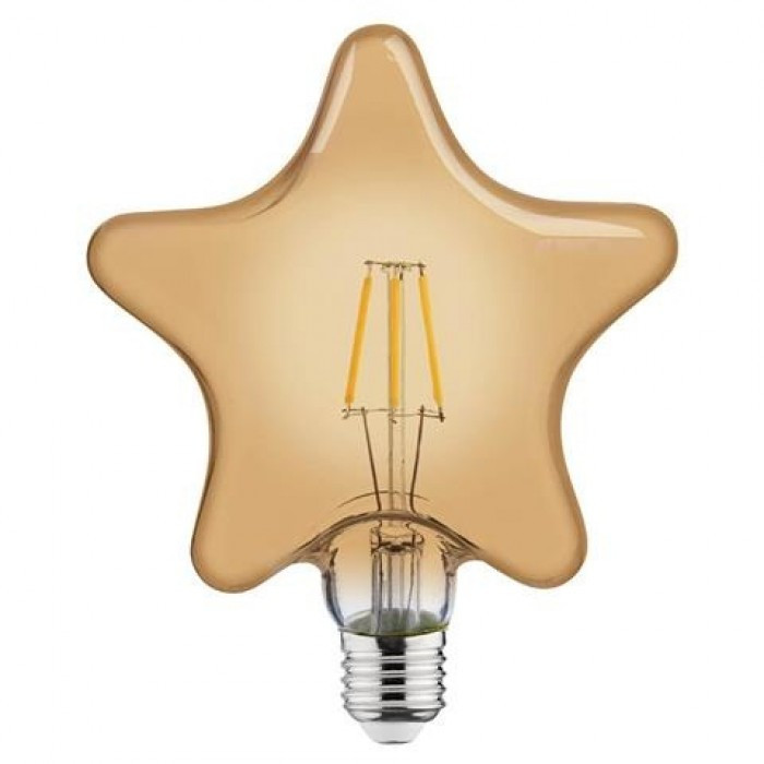 Лампа Эдисона светодиодная 6W Horoz Е27 2200К STAR