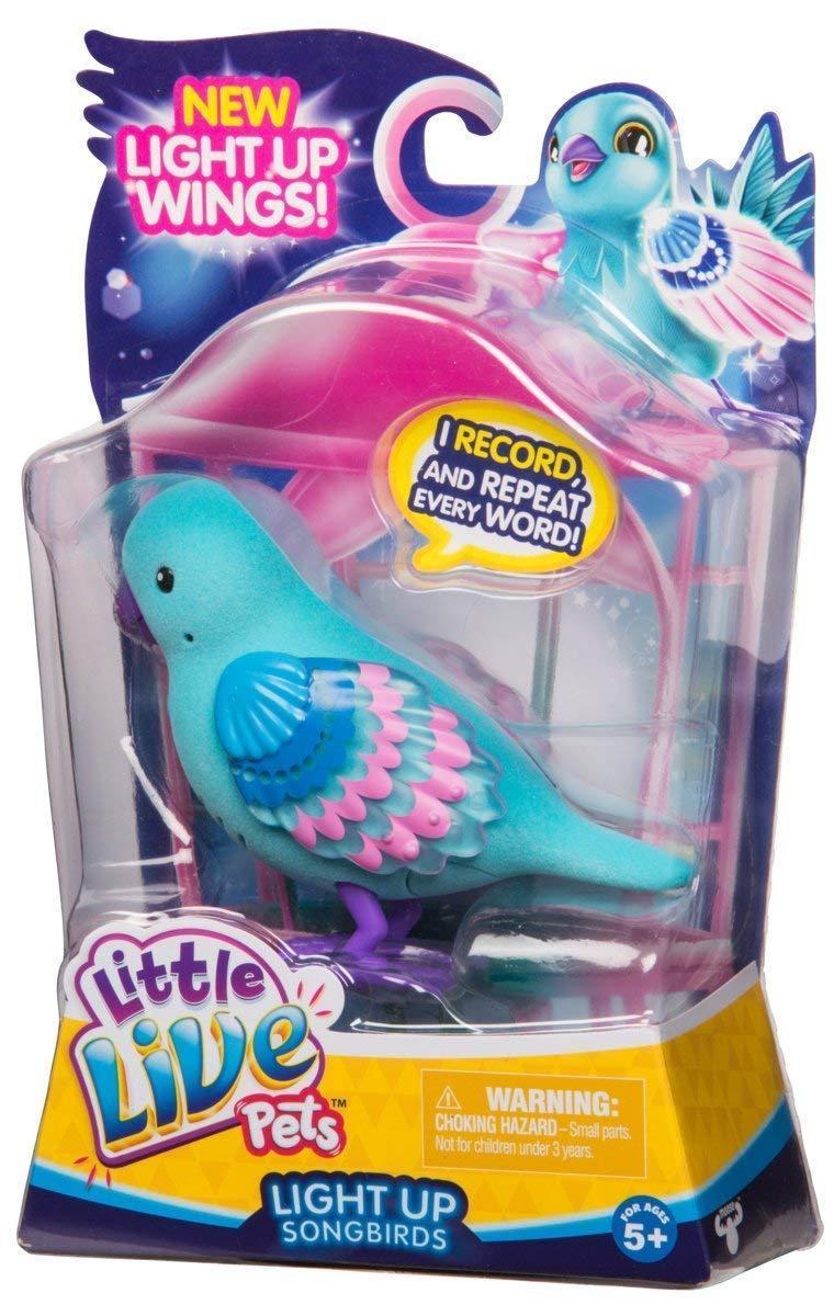 Интерактивная поющая птичка Little Live Pets Season 8 Bird Single Pack - Shelly Shimmer