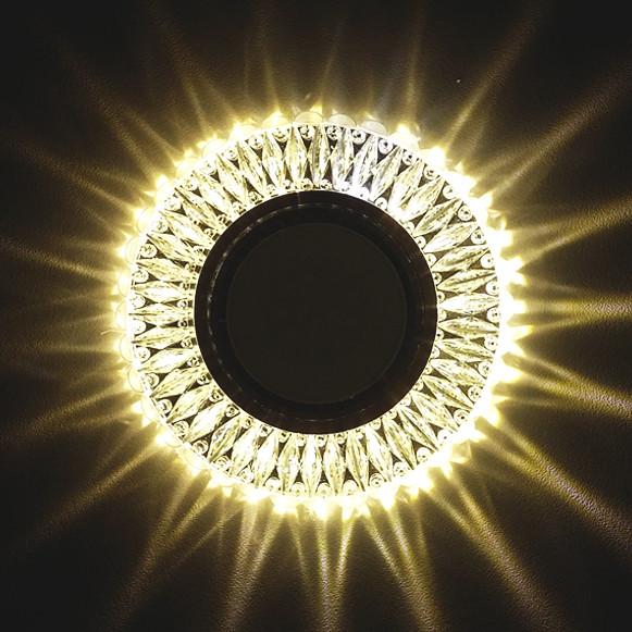 Світильник вбудований з LED підсвічуванням Feron 7314 під лампу Mr16