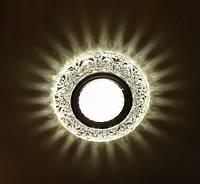 Светильник встраиваемый с LED подсветкой Feron 7031  под лампу Mr16