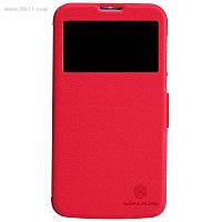 Чехол Nillkin Fresh Series Leather Case для Huawei Ascend G730 red