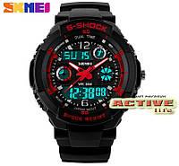 Мужские спортивные часы  S-Shock Skmei / 0931/ red, фото 1