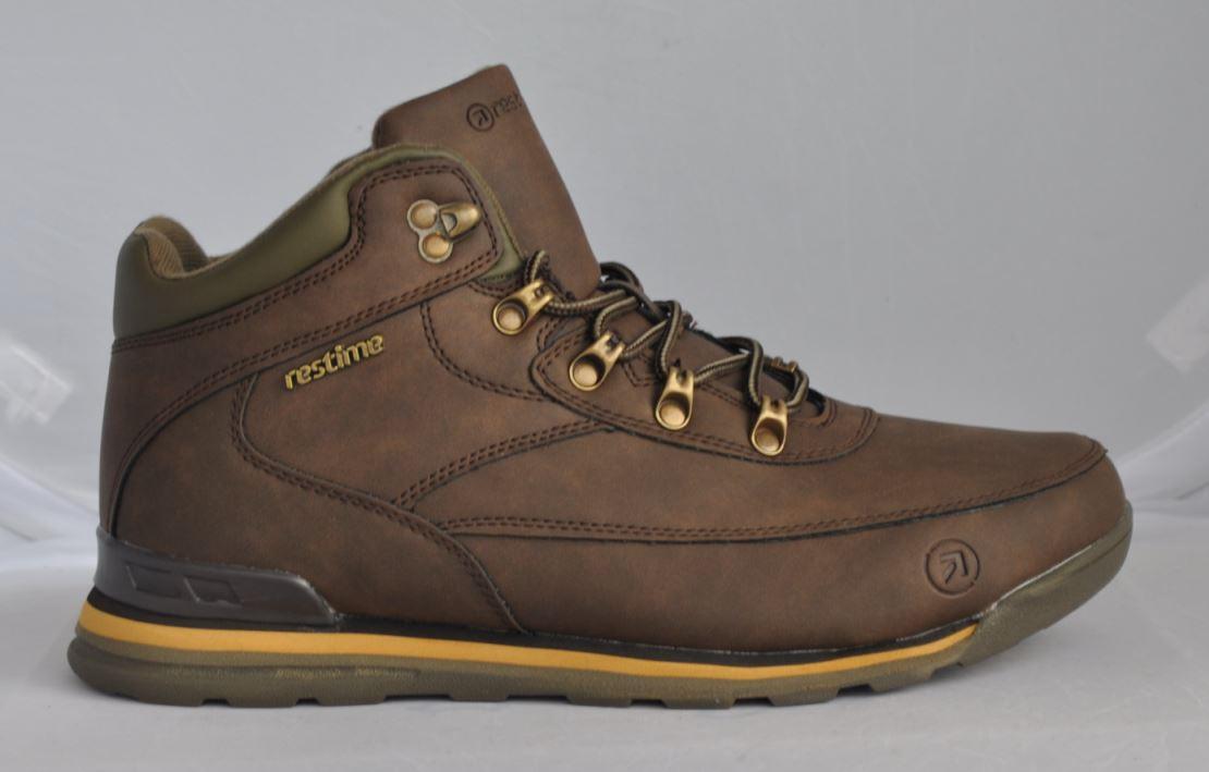 0e50c68286c9 Зима   демисезон. Ботинки на меху из натурального нубука коричневые ...
