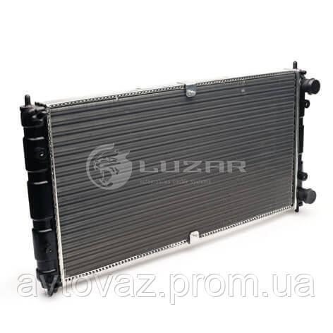 Радиатор охлаждения ВАЗ 2123 Нива Шевроле алюминиевый (LRc 0123) ЛУЗАР