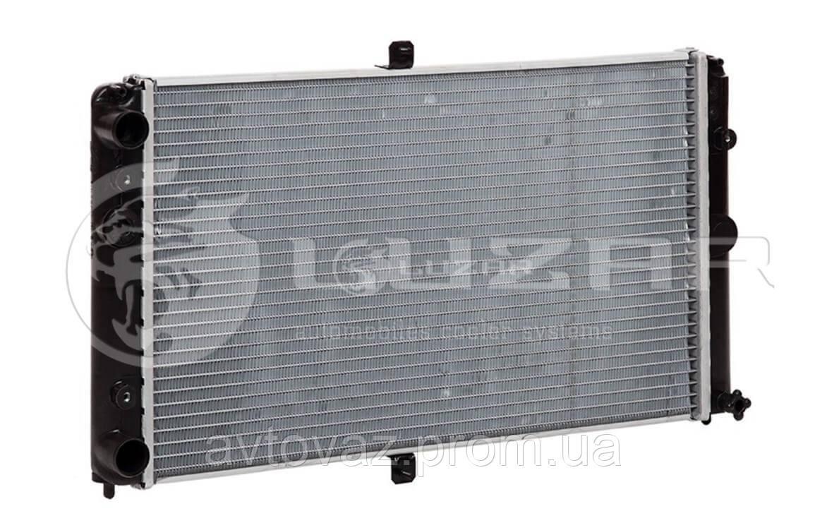 Радіатор охолодження ВАЗ 2110, ВАЗ 2111, ВАЗ 2112 інжекторний основний алюмінієвий ЛУЗАР