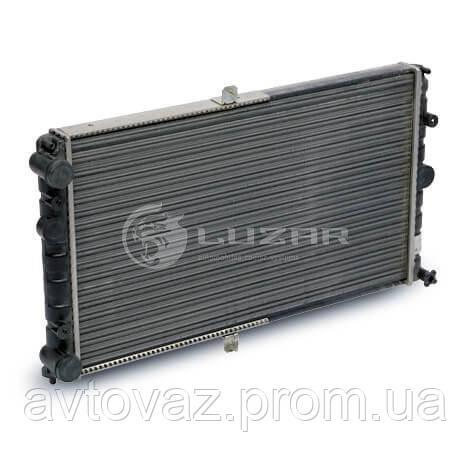 Радиатор охлаждения ВАЗ 2110, 2111, 2112 алюминиевый универсальный (LRc 01120) ЛУЗАР