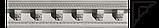 Карниз з гіпсу, гіпсовий карниз к-109 h130х135 мм., фото 3