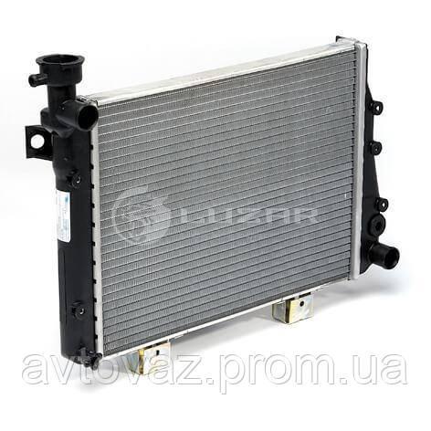 Радиатор охлаждения ВАЗ 2104, 2105, 2107 SPORT (алюм-паяный) (LRc 01070b) ЛУЗАР