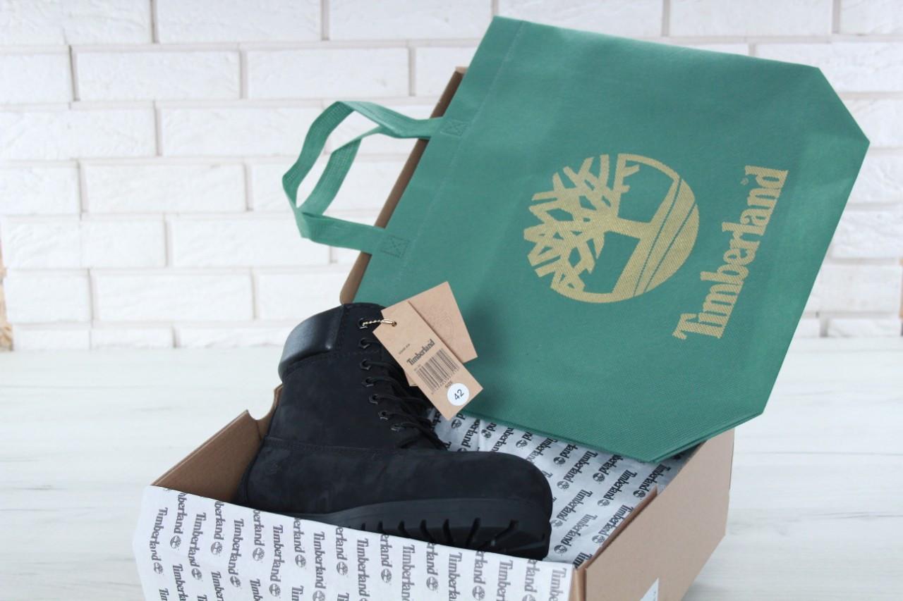 248fbba8e528 ... черные Timberland 6 inch Black Boots (с мехом)   ботинки мужские и  женские  ...