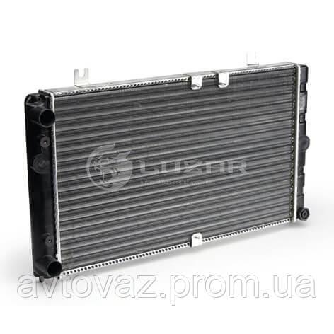 Радиатор охлаждения ВАЗ 1118 Калина алюминевый (LRc 0118) ЛУЗАР