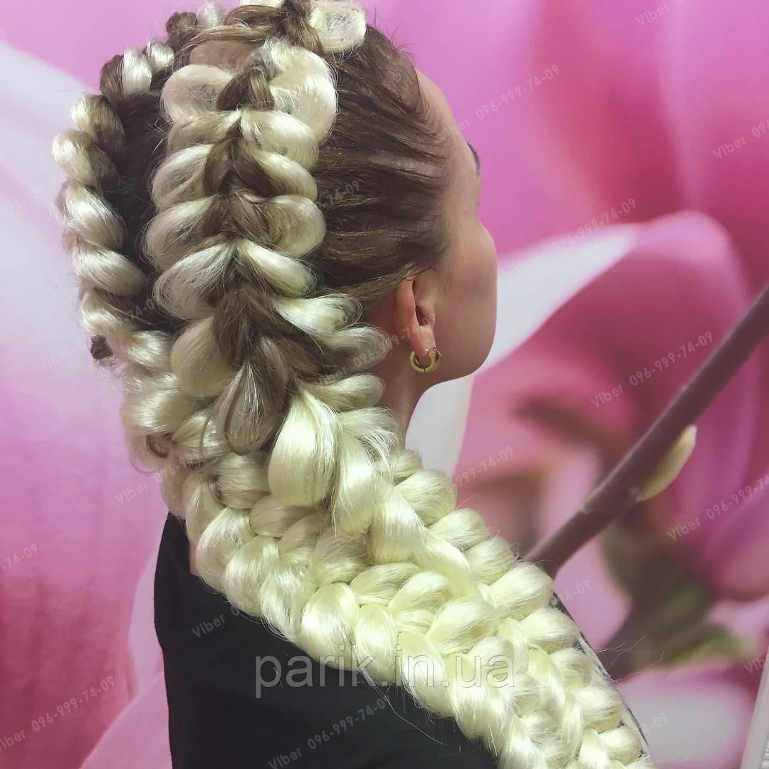 Блонд пряди канекалона для плетения бпейд