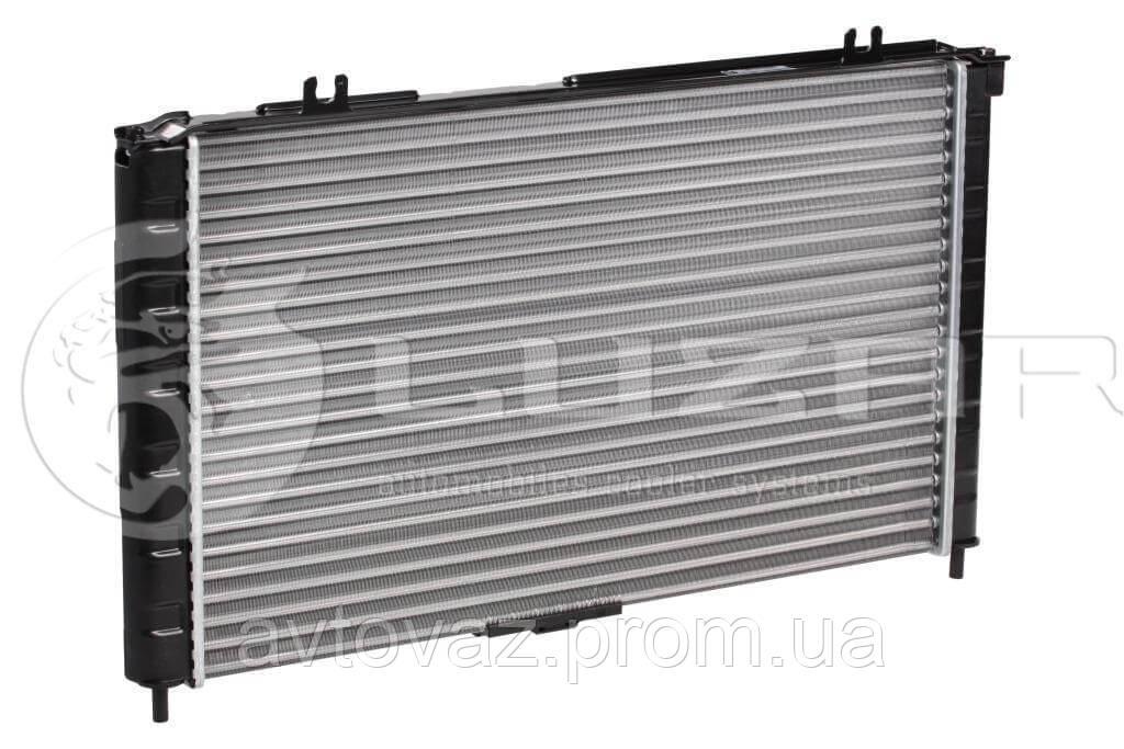 Радиатор охлаждения PANASONIC ВАЗ 1118, 1119 Калина с кондиционером (алюм-паяный) (LRc 01182b) ЛУЗАР