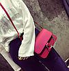 Сумка женская через плечо Dolores на цепочке Красный, фото 2