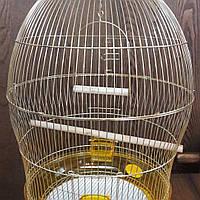 Клетка для попугая круглая D48*76,5см