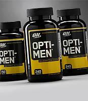 Комплекс витаминов для мужчин Opti-men - 120 tabs