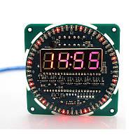 LED Часы термометр, будильник, AT89S52, DS1302, DS18B20
