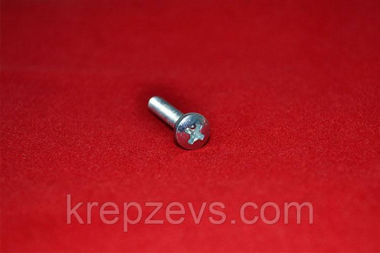 Винт М2.5 ГОСТ 17473-80 оцинкованный