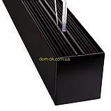 Линейный светодиодный светильник Lite c деревянными заглушками Lite 1200, фото 9