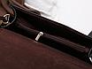 Сумка женская клатч через плечо Jessica Светло коричневый, фото 6
