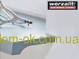 Підвіконня Верзалит/Werzalit (Німеччина) колір 008 Світлий мармур ширина 500 мм, фото 6