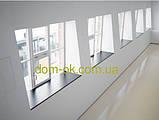 Підвіконня Верзалит/Werzalit (Німеччина) колір 008 Світлий мармур ширина 500 мм, фото 8