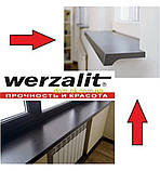 Підвіконня Верзалит/Werzalit (Німеччина) колір 008 Світлий мармур ширина 500 мм, фото 9
