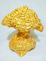 Статуэтка  из гипса «Денежное дерево» (все в позолоте)
