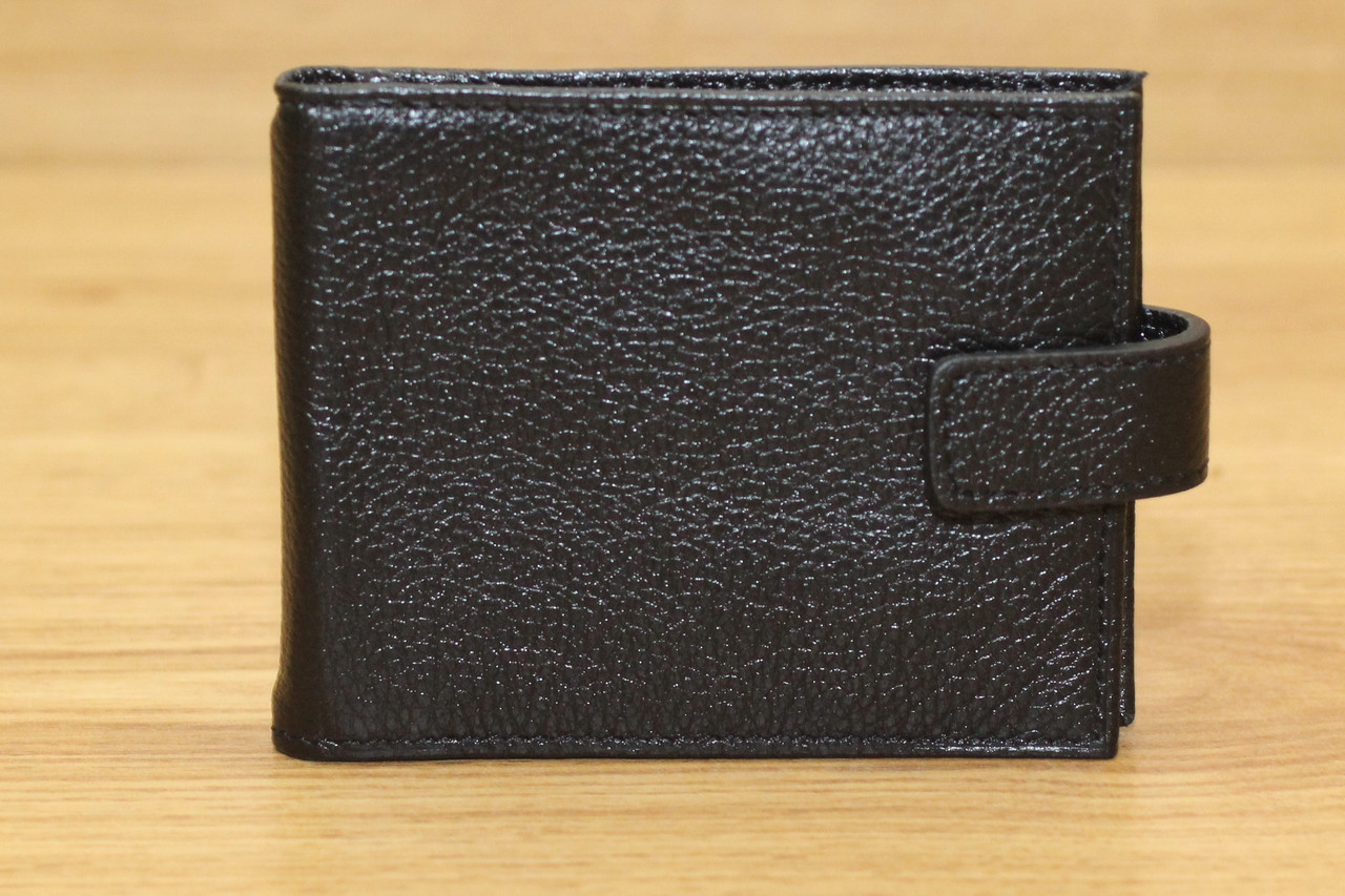 Компактний гаманець затискач з натуральної шкіри Dekol (13337)