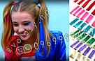 🌈 Цветные пряди как у Ники (Школа) волос на заколках, фото 3