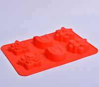Силиконовая форма для выпечки кексов СК3-448 арт. 822-10-2, фото 1