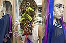 🌈 Цветные пряди как у Ники (Школа) волос на заколках, фото 6