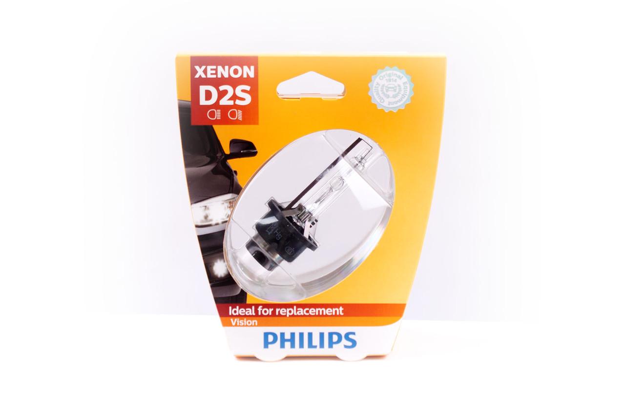 Лампа ксеноновая 85V D2S 35W P32D-2 VISION 4600 K