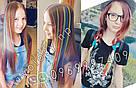 Червоні пасма волосся на кліпсах, фото 7