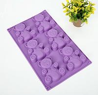 Силиконовая форма для выпечки кексов СК3-102В  арт. 822-15A-18, фото 1