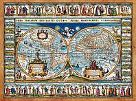 """Пазлы """"Карта мира"""" Castorland 2000 элементов"""