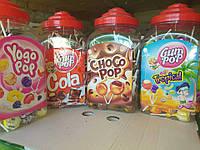Чупа-чупс gum pop з жуйкою 18г 100шт/уп