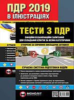 Тесты ПДД+Правила дорожного движения в иллюстрациях