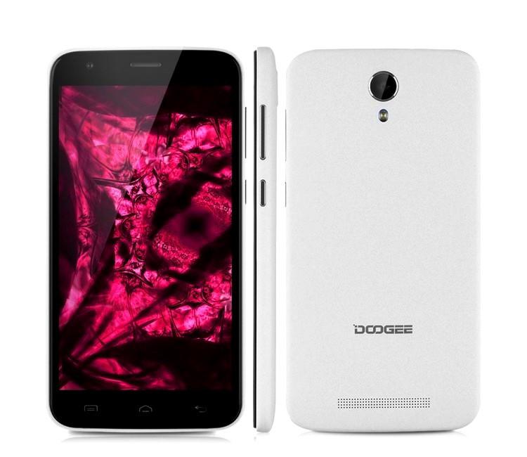 Смартфон Doogee Y100 Plus 2/16Gb White 4G