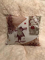"Новогодние декоративные подушки ""Ретро Christmas"""