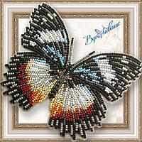 Набір для вишивки бісером Метелик «ГИПОЛИМНАС ДЕКСИТЕЯ»
