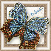 """Набір для вишивки бісером """"Метелик «SALAMIS TEMORA»"""