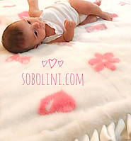 Одеяло из норочки детское , фото 1