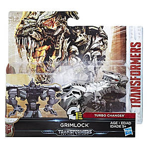 Робот-трансформер Гримлок в 1-шаг, 11 cм - Grimlock, One step, Turbo Changer, TF5, Hasbro