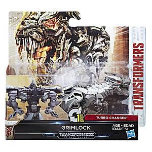 Робот-трансформер Гримлок в 1-шаг, 11 cм - Grimlock, One step, Turbo Changer, TF5, Hasbro