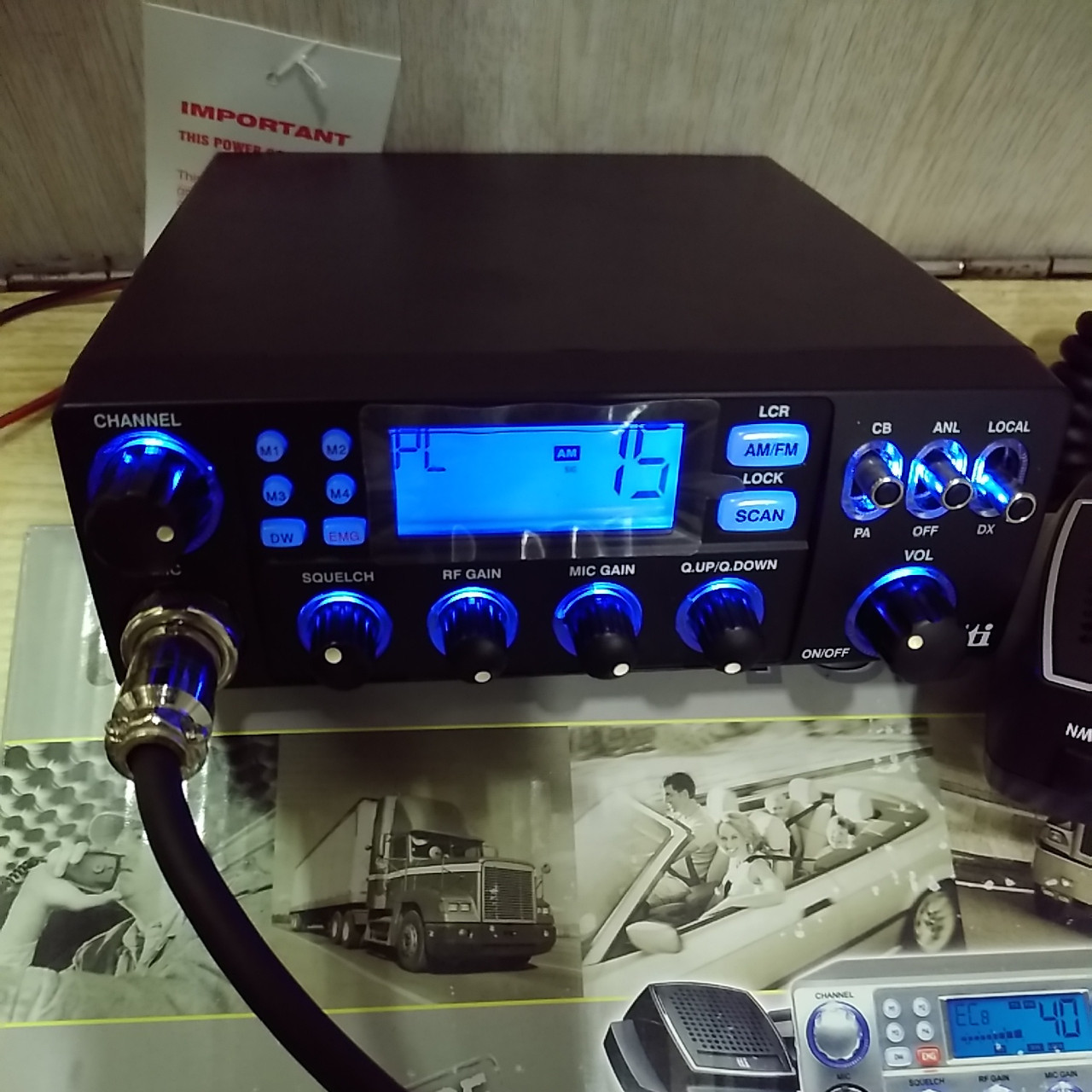 TTI TCB-880 Си-Би радиостанция автомобильтная/базовая