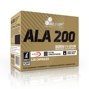 OLIMP Альфа липоевая кислота ALA 200 (120 caps)